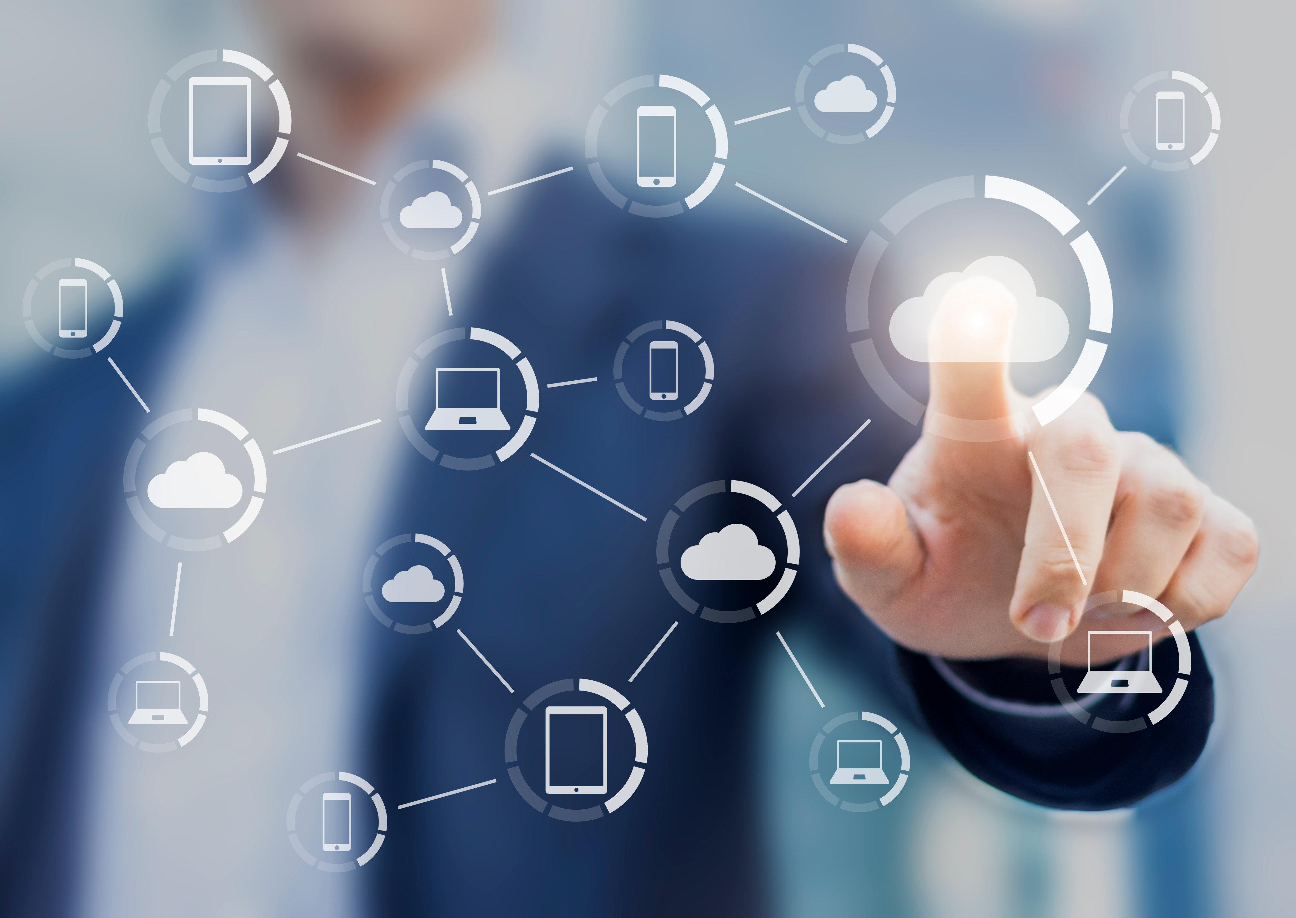 Featured Image - Cloud services, Hybrid work environment, modernization